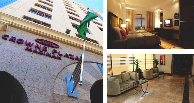 Crowne Plaza opens in the Holy City of KSA