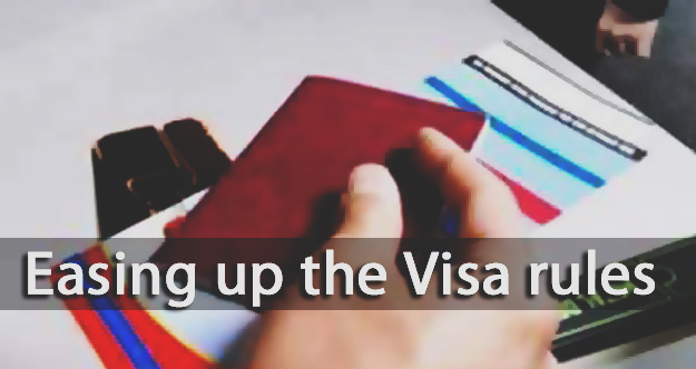 Easing up the Visa rules