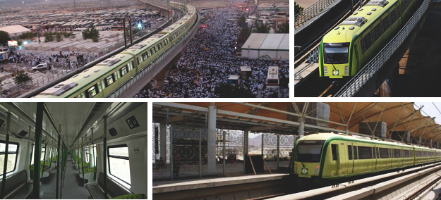 Rail Projects to transport pilgrims and Umrah visitors