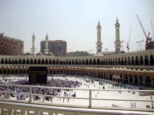 recent photo of Haram Makkah