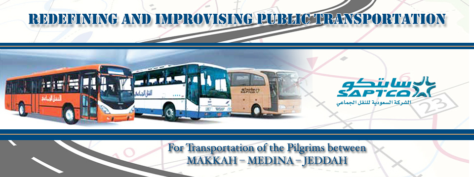 SAPTCO Buses for Transfers in Saudi Arabia